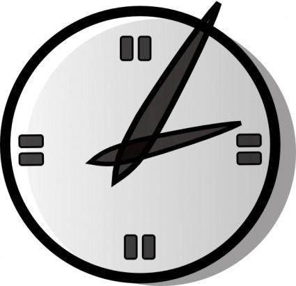 Uhr clipart kostenlos image black and white Analoguhr-ClipArt-Vektor-ClipArt-Kostenlose Vector Kostenloser ... image black and white