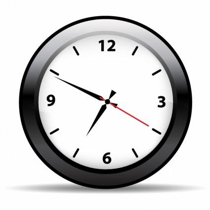 Uhr clipart kostenlos free Analoge Wanduhr-Vektor-misc-Kostenlose Vector Kostenloser Download free