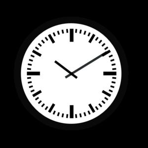 Uhr clipart kostenlos