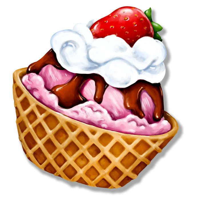 Uimportant sundays clipart clip stock Ice cream sundae ice cream clip art at vector clip art ... clip stock