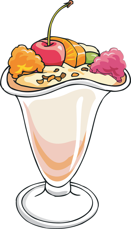 Uimportant sundays clipart picture free library Scoop ice cream sundae clipart - Clip Art Library picture free library