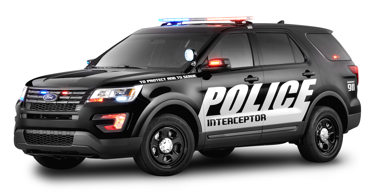 Police car front clipart vector royalty free download Police car PNG images free download vector royalty free download