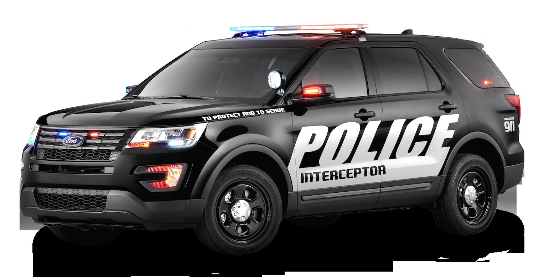 Highway patrol car clipart