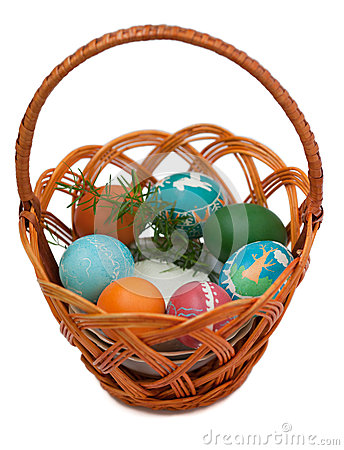 Ukranian easter egg clipart graphic free Ukrainian Easter Food Basket. Stock Photo - Image: 37656220 graphic free