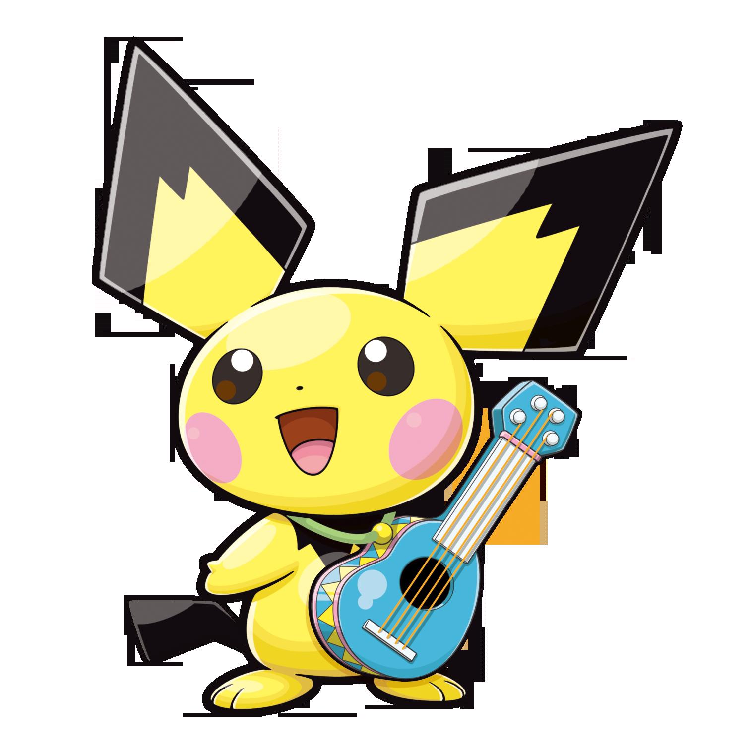 Ukulele anime rock star clipart svg freeuse download Ukulele Pichu | Pokémon Wiki | FANDOM powered by Wikia svg freeuse download