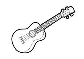 Ukulele clipart vector vector free stock ukulele silhouette Ukulele Outline Vector Illus...   Ukulele ... vector free stock