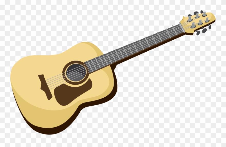 Ukulele clipart vector clip royalty free Ukulele Vector Acoustic Guitar Neck - Martin 000 18 Flame ... clip royalty free