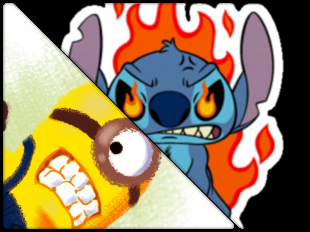 Ultimate showdown clipart png free download The ultimate showdown MINION VS STITCH who would WIN!... png free download