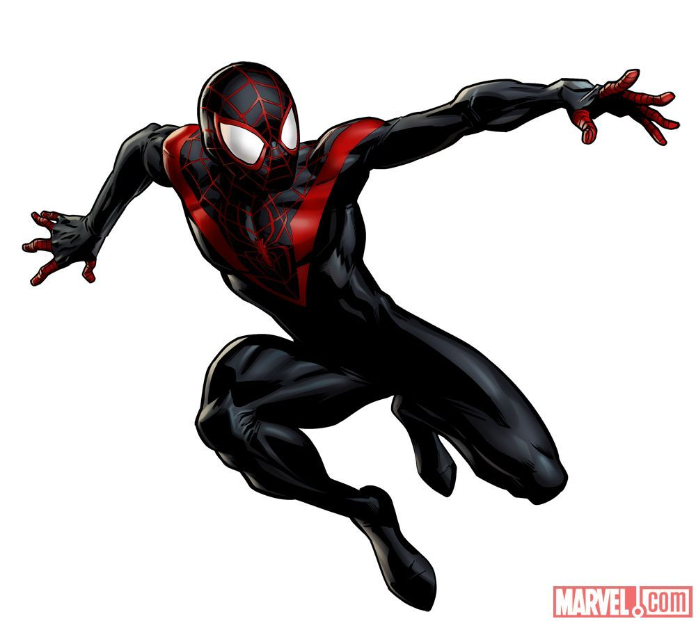 Ultimate spiderman clipart png free download Ultimate #Spiderman #Miles #Morales #Clip #Art. (THE * 5 ... png free download