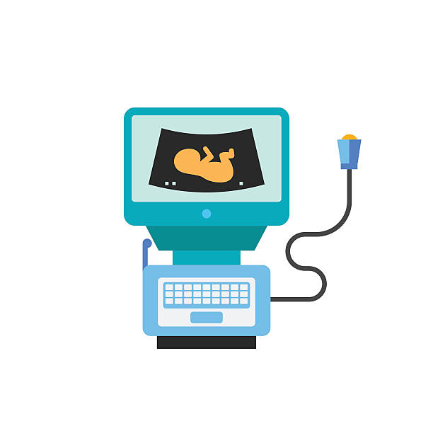 Ultrasonic clipart graphic Royalty Free Portable Ultrasound Machine C #268237 ... graphic