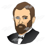 Ulysses clipart image free library Ulysses S. Grant image free library