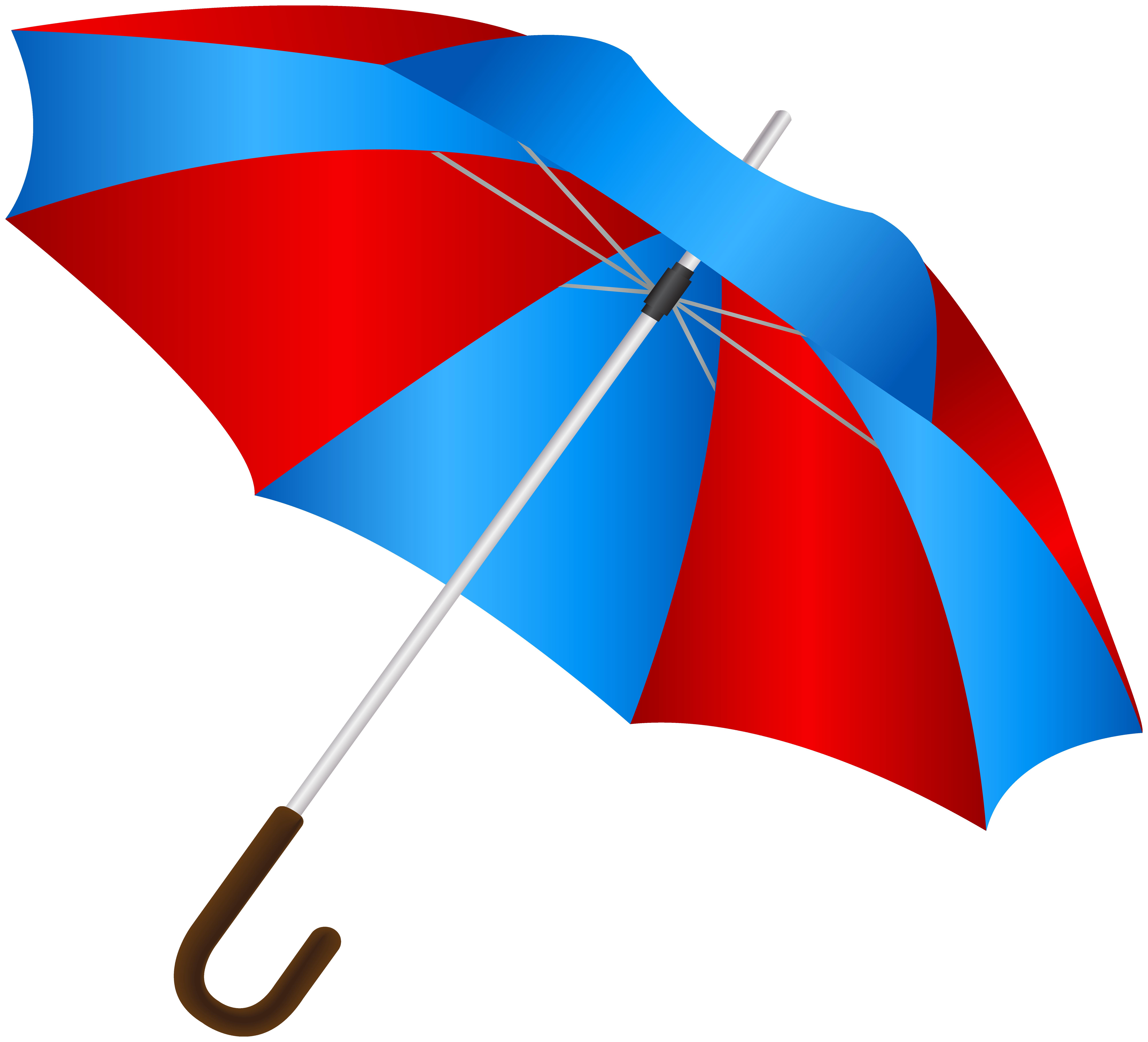 Umbreala clipart jpg transparent stock Blue Red Umbrella PNG Clip Art Image | Gallery Yopriceville ... jpg transparent stock