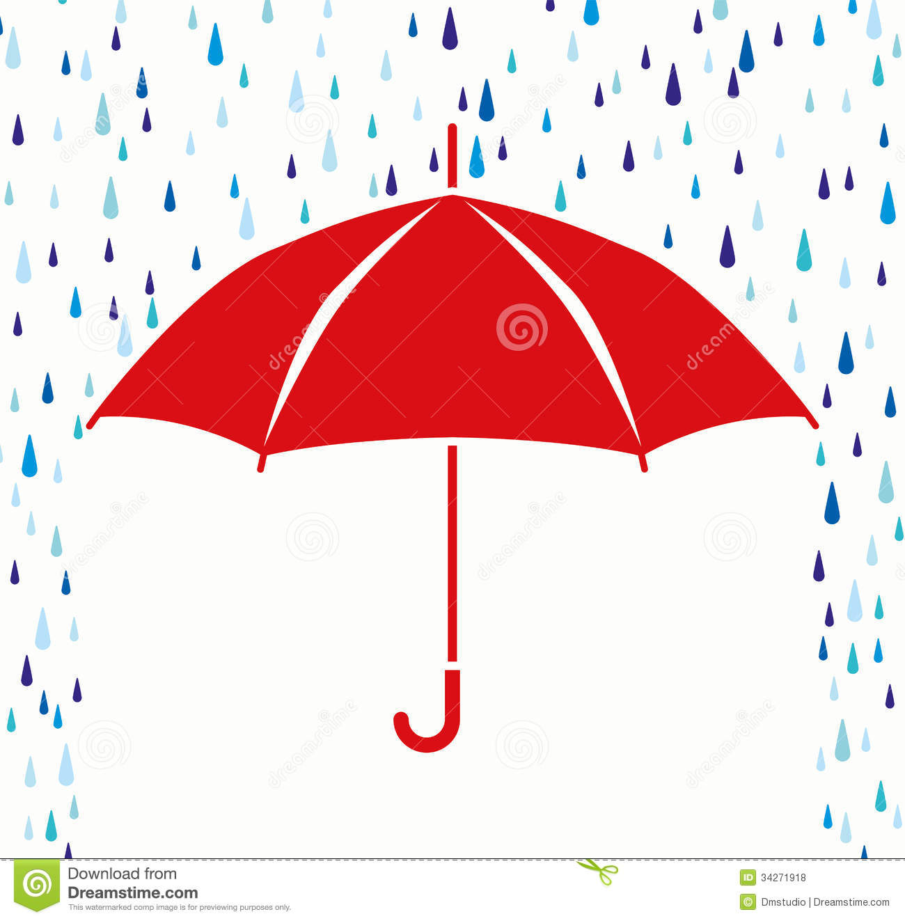 Umbrella and rain clipart graphic royalty free Umbrella with rain clipart 5 » Clipart Station graphic royalty free