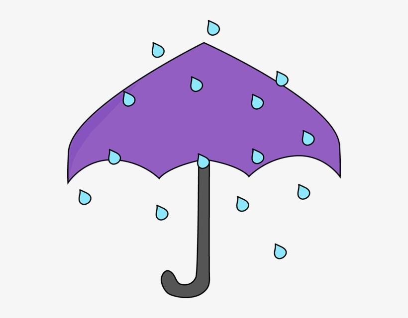Umbrella and rain clipart clipart transparent library Purple Umbrella In The Rain Clipart - Rain Umbrella Clip Art ... clipart transparent library