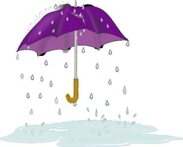 Umbrella and rain clipart clip art library stock Tattered Umbrella In Rain Clip Art at Clker.com - vector ... clip art library stock