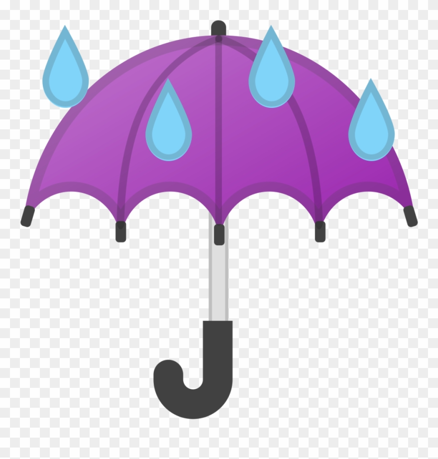 No rain clipart black and white library Download Svg Download Png - Umbrella Emoji No Rain Clipart ... black and white library