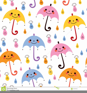 Umbrella and rain clipart vector image library stock Umbrella And Rain Clipart | Free Images at Clker.com ... image library stock