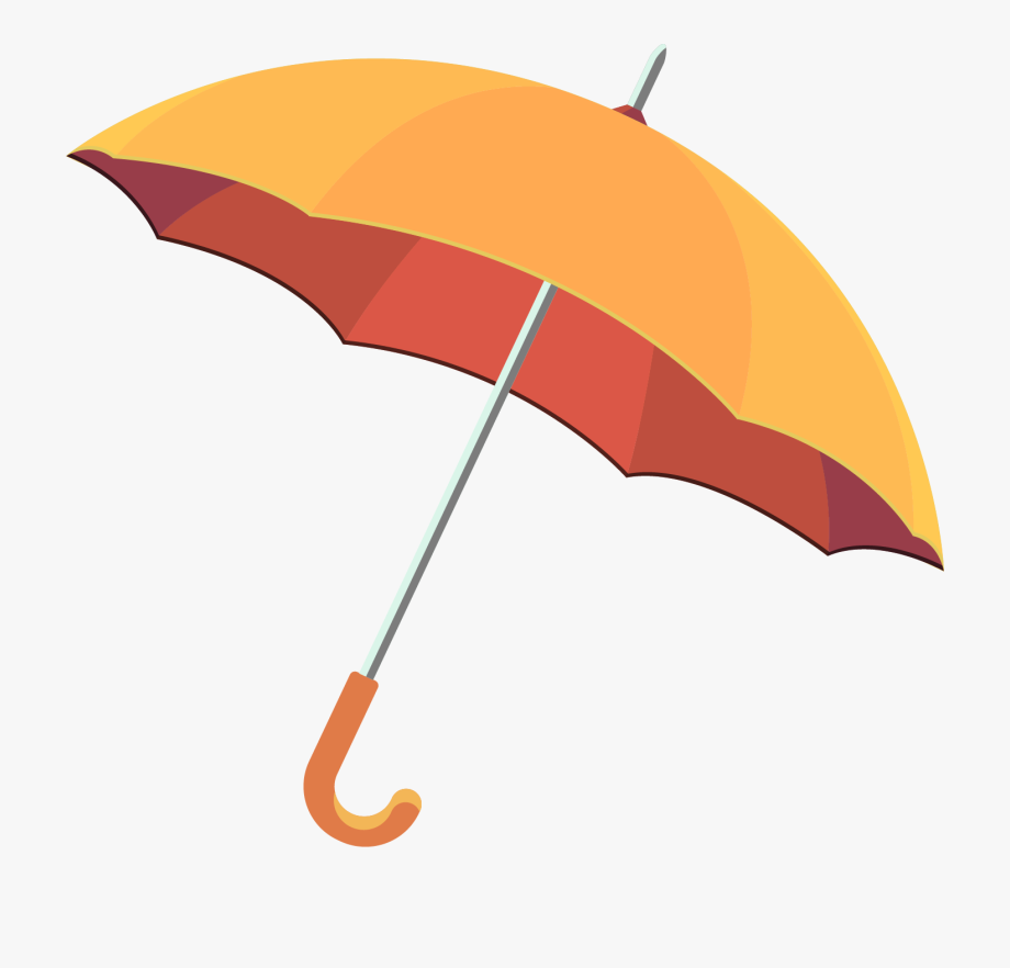 Umbrella and rain clipart vector svg free library Umbrella Clip Art - Rain Umbrella Vector Free Download ... svg free library