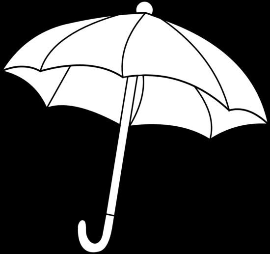 Umbrella clipart vector black and white download Umbrella Clipart Black And White | Clipart Panda - Free Clipart Images vector black and white download