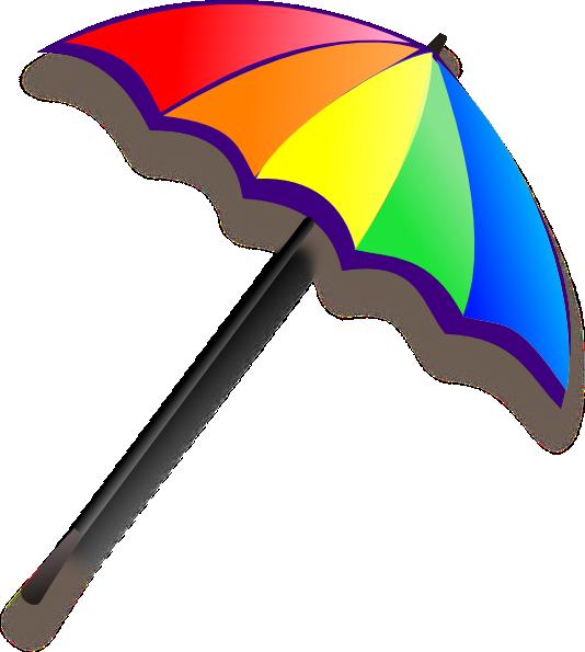 Sun umbrella clipart clip transparent stock Beach Umbrella Clipart - Clipart Kid clip transparent stock