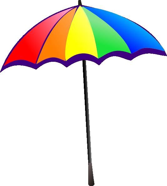Rainbow and sun clipart large jpg freeuse stock Umbrella Clip Art Free Download | Clipart Panda - Free Clipart Images jpg freeuse stock