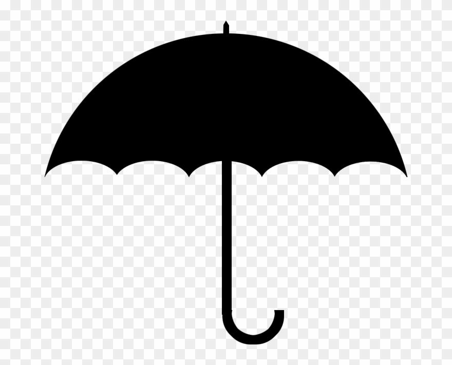 Umbrella clipart background clip art transparent Umbrella Clipart Clear Background - Umbrella Png Black ... clip art transparent