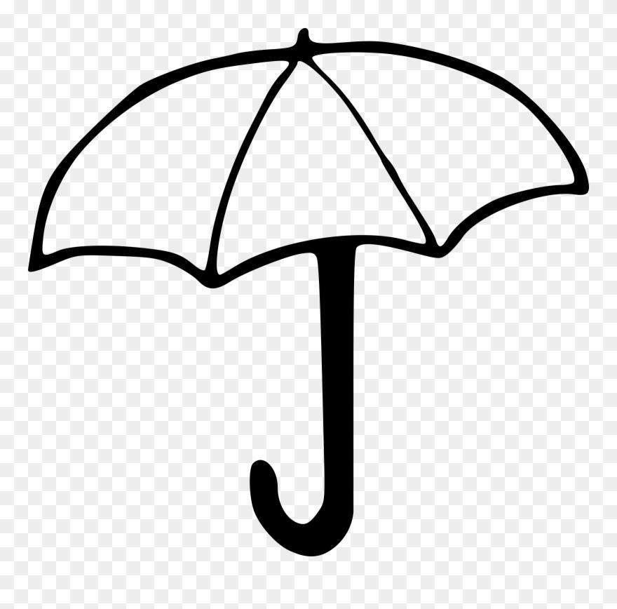 Umbrella clipart bblack and white clip art royalty free stock Umbrella Clipart Umbrella Image Umbrellas 2 Clipartwiz ... clip art royalty free stock