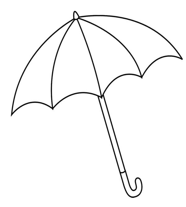 Umbrella clipart bblack and white svg Free Umbrella Cliparts Black, Download Free Clip Art, Free ... svg