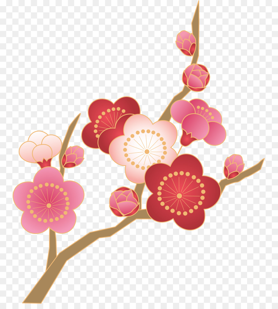 Ume flowers clipart banner transparent download Flowers Clipart Background clipart - Flower, Plant ... banner transparent download