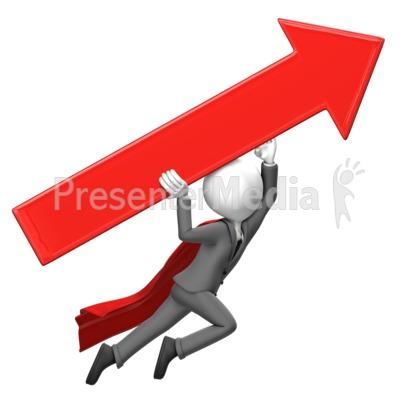 Unbeatable clipart graphic transparent stock Businessman Fly Arrow - Presentation Clipart - Great Clipart ... graphic transparent stock