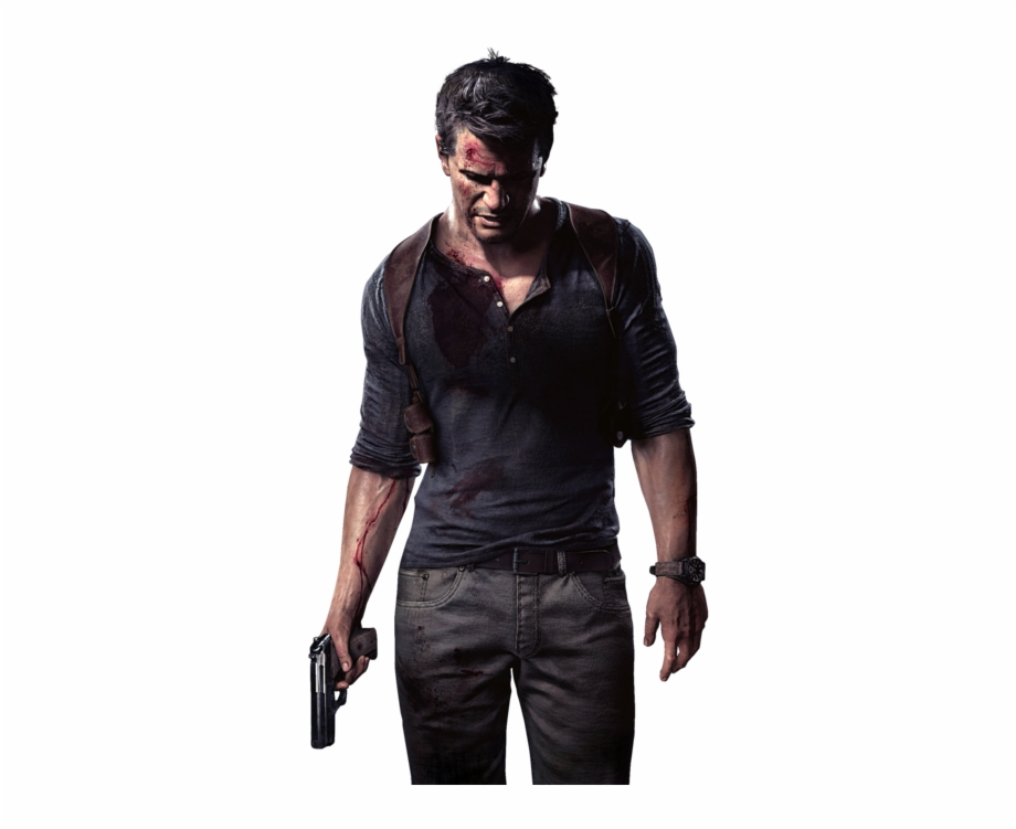 Uncharted 4 clipart clipart black and white library Nathan Drake Uncharted Png Image With Transparent Background ... clipart black and white library