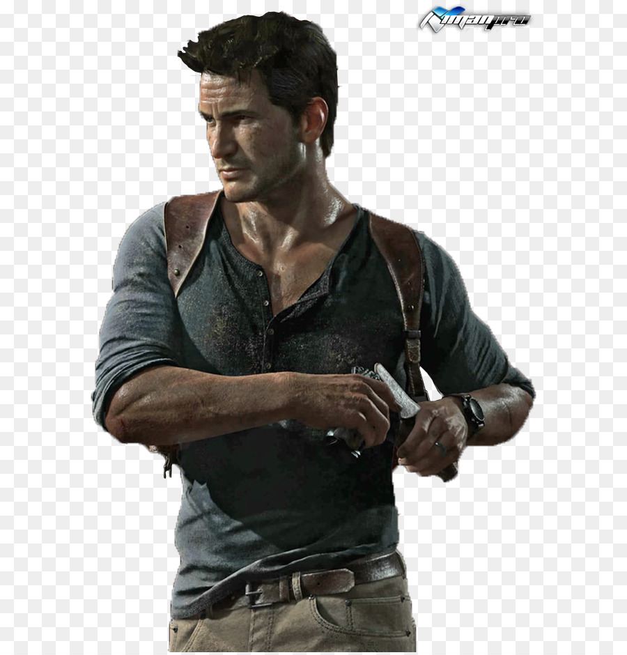 Uncharted 4 clipart png royalty free stock Drake Cartoon clipart - Tshirt, Muscle, Product, transparent ... png royalty free stock