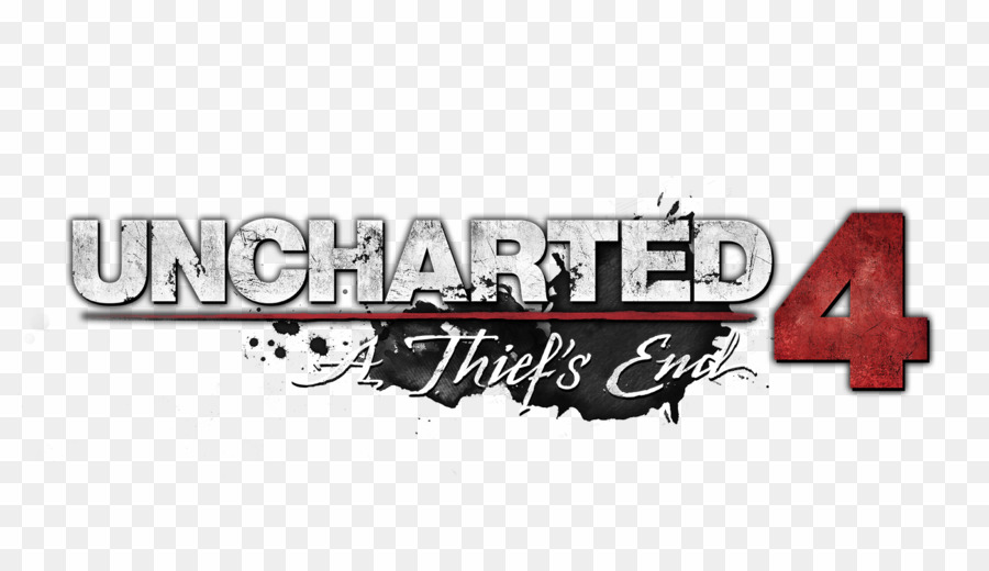 Uncharted logo clipart banner black and white stock Uncharted 4 Font PNG Uncharted 4: A Thief\'s End Uncharted ... banner black and white stock
