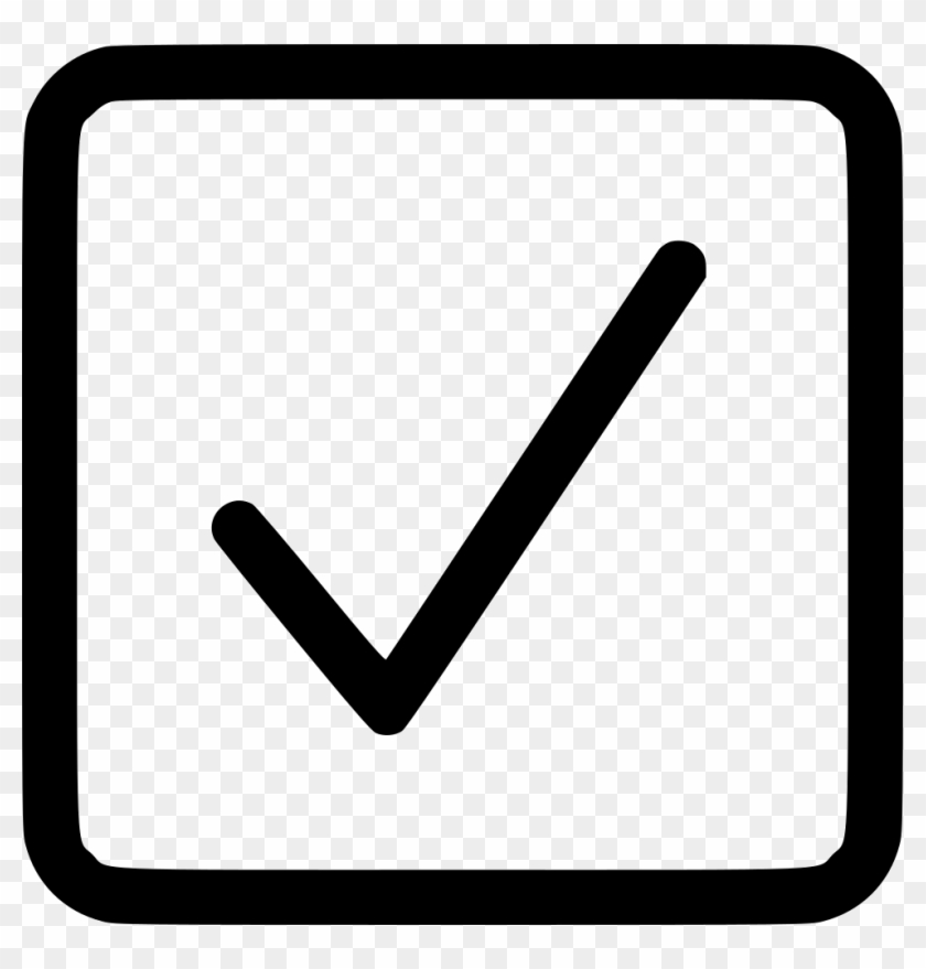 Uncheckbox clipart black and white clip free stock Checkbox Square Checked Comments - Check Box Png ... clip free stock