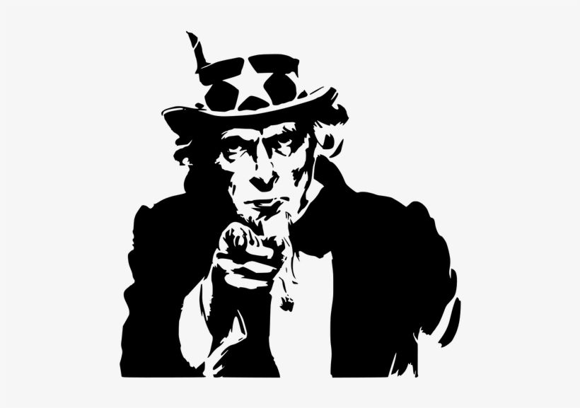Uncle sam pointing finger clipart download 1827 Vintage Pointing Finger Clip Art - Want You Uncle Sam ... download