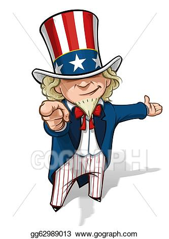 Uncle sam pointing finger clipart svg royalty free Stock Illustrations - Uncle sam \'i want you\' presenting ... svg royalty free