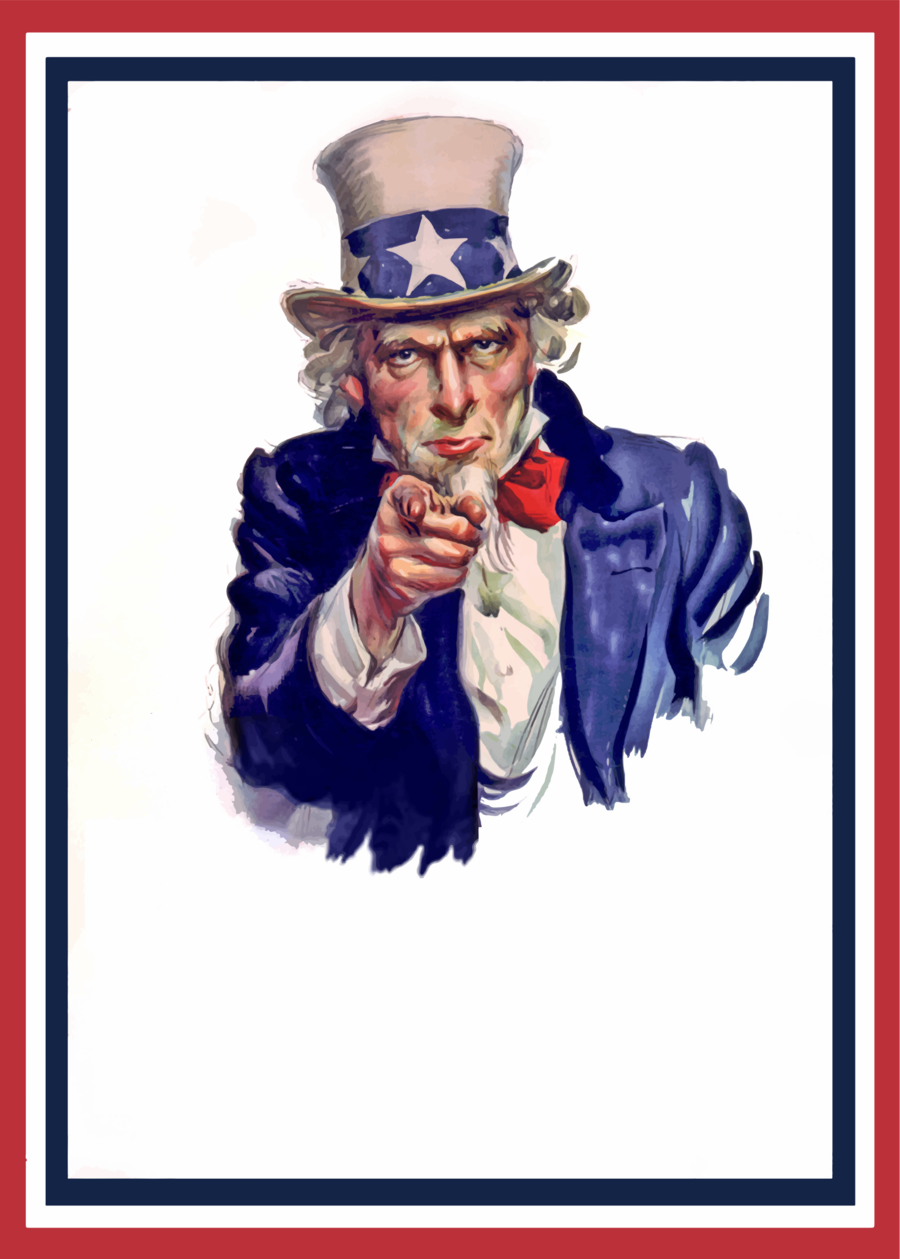 Uncle sam wants you clipart picture Poster Background clipart - Poster, Illustration, Art ... picture