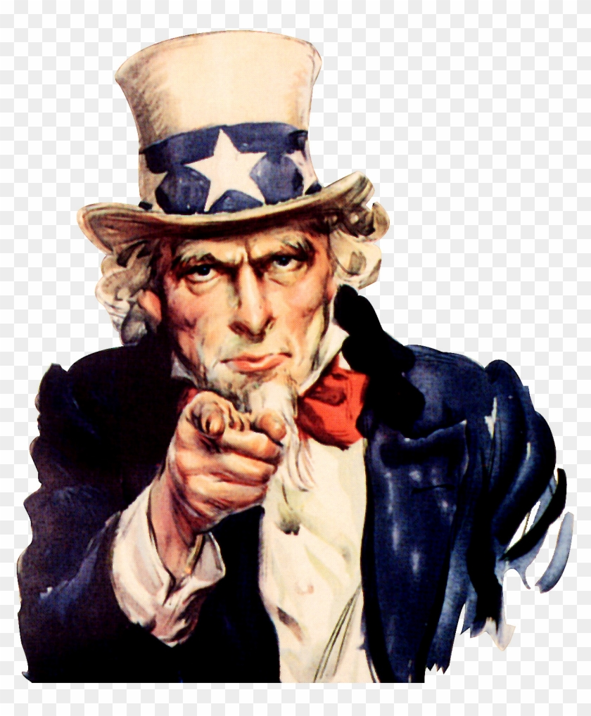 Uncle sam wants you clipart clip art black and white download Uncle Sam We Want You - Uncle Sam I Want You Poster, HD Png ... clip art black and white download