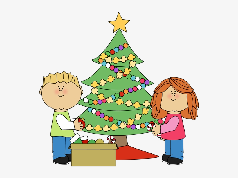 Undecorating clipart image library Kids Decorating A Christmas Tree Clip Art - Decorate ... image library