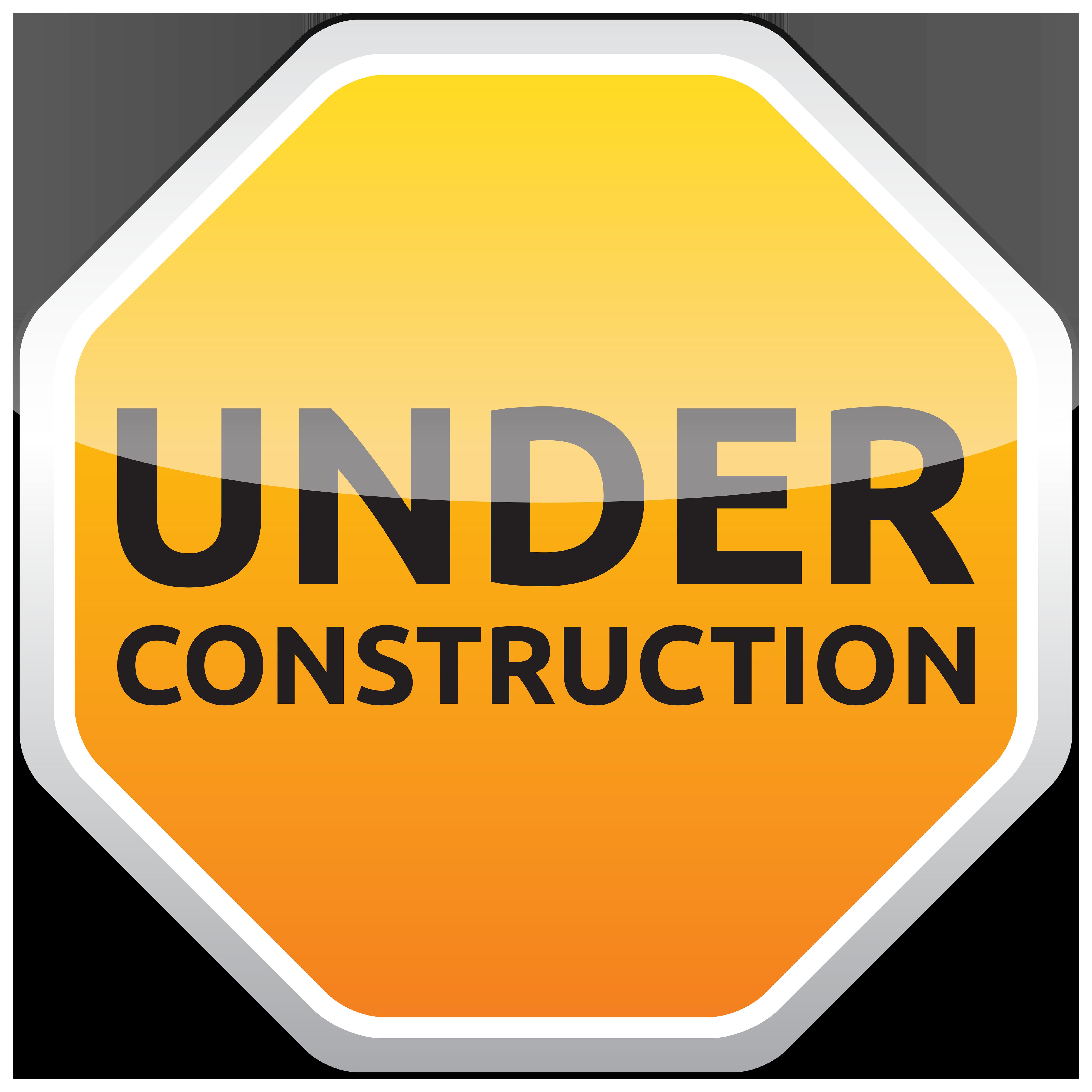 Under construction clipart sign clipart transparent download Under Construction Sign PNG Clipart - Best WEB Clipart clipart transparent download