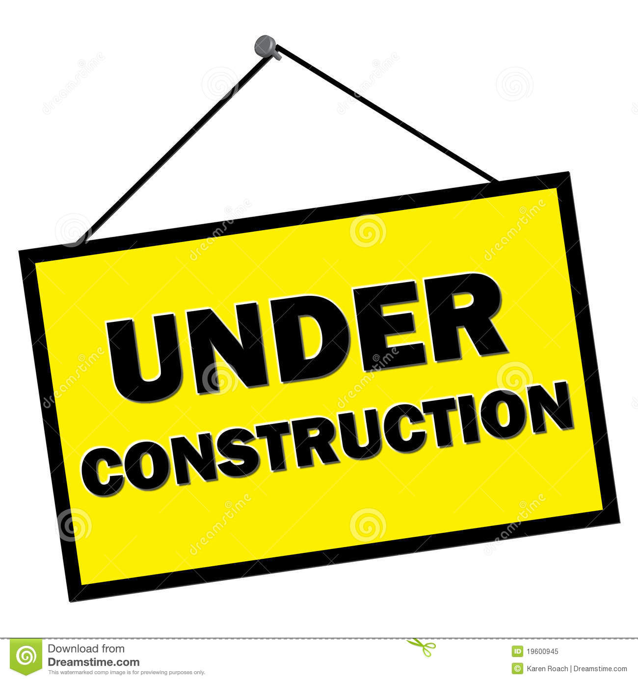 Under construction sign clipart vector library stock Under construction sign clipart 3 » Clipart Station vector library stock