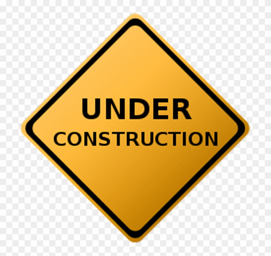 Under construction sign clipart orange vector free Barricade 20clipart - Under Construction Image Png ... vector free
