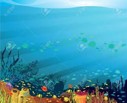 Under ocean clipart image freeuse download Image result for under the sea background clipart   Recipes ... image freeuse download