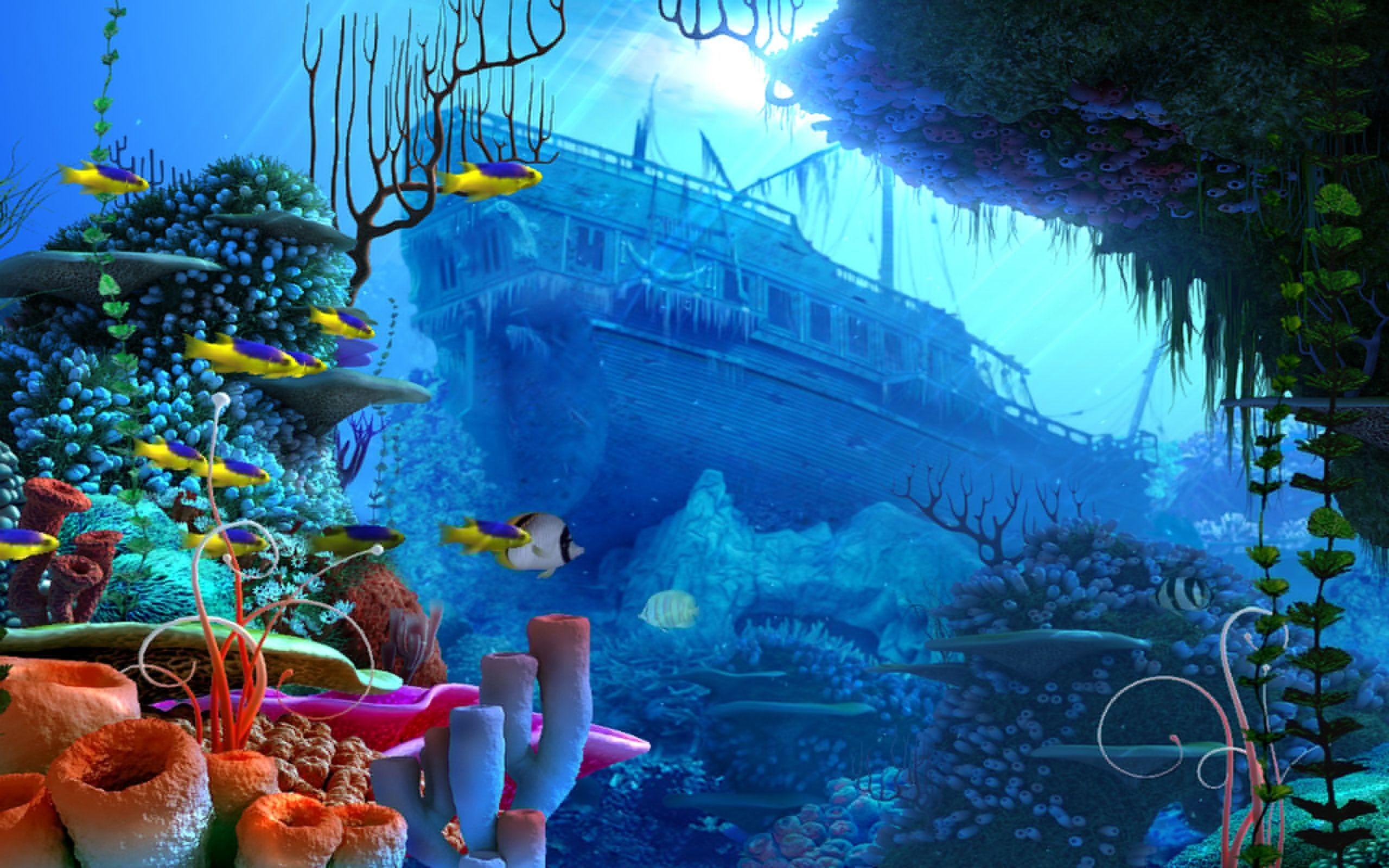 Under the sea wallpaper clipart graphic free 66+ Under Ocean Wallpapers on WallpaperPlay graphic free