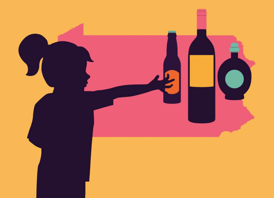 Underage alcohol clipart