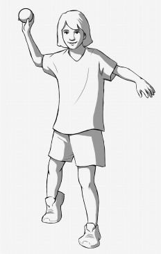Underhand toss clipart jpg royalty free library Learning progression for overhand throw | Phys Ed | Physical ... jpg royalty free library