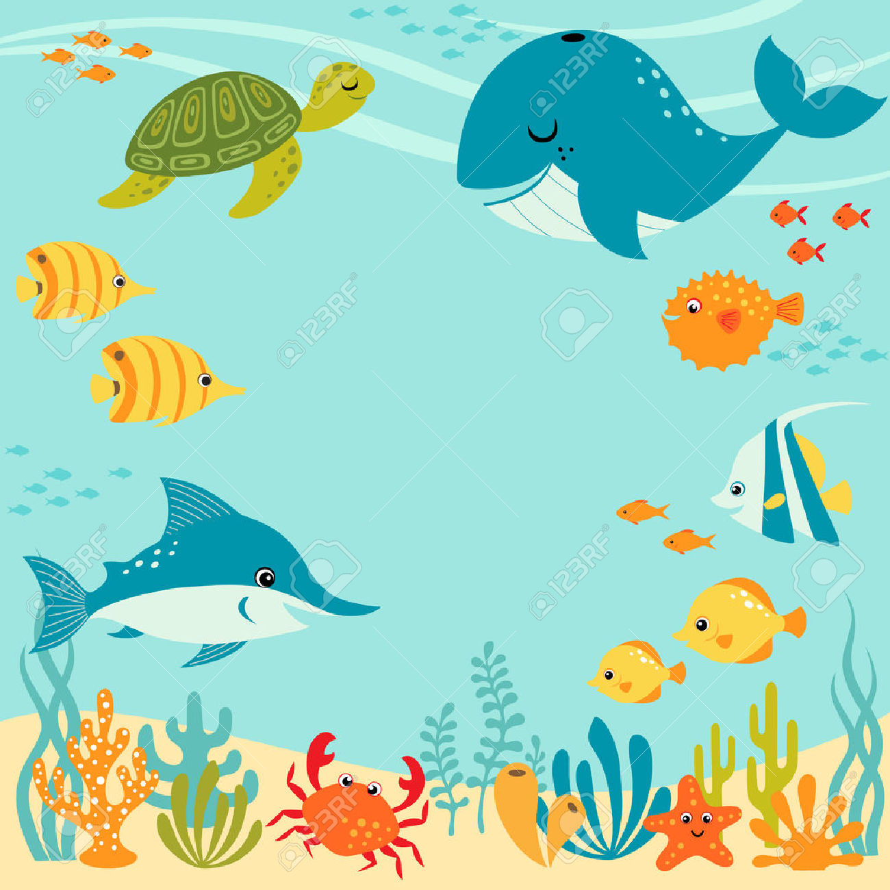Undersea clipart picture freeuse library Underwater Cliparts | Free download best Underwater Cliparts ... picture freeuse library