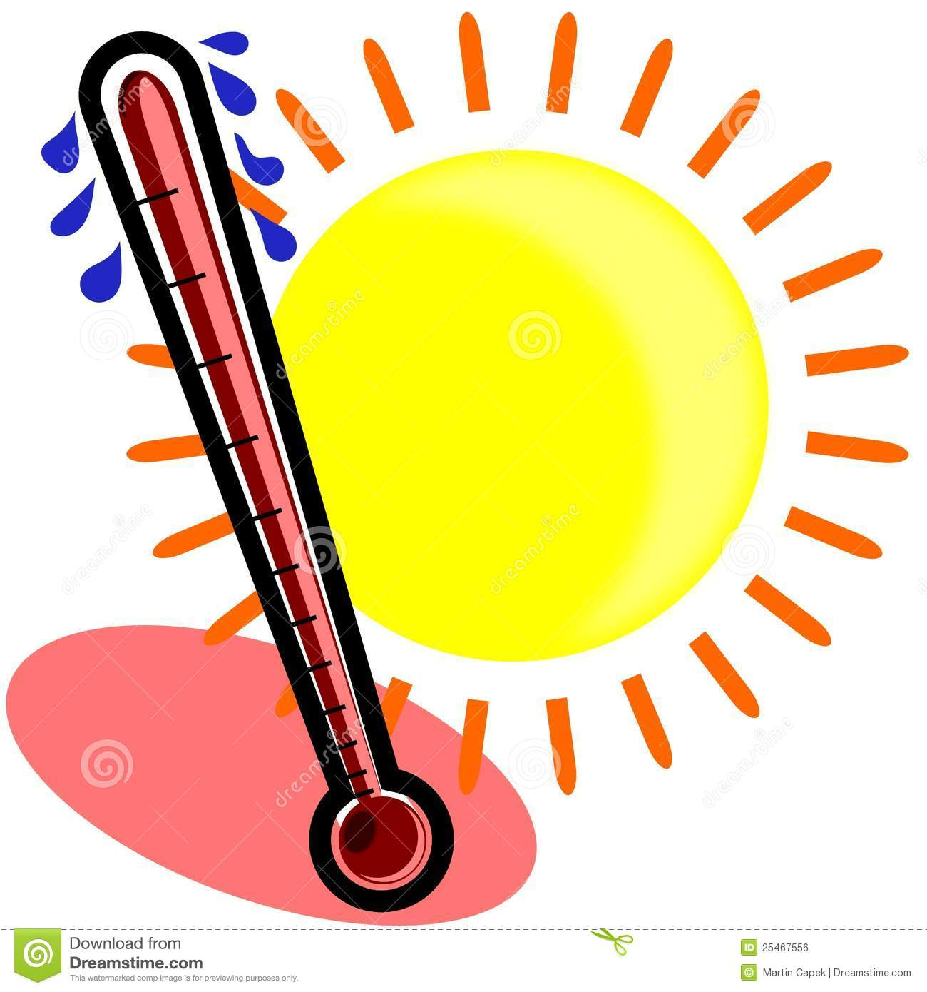 Warm and sunny clipart royalty free library Thermometer warm clipart 2 » Clipart Station royalty free library