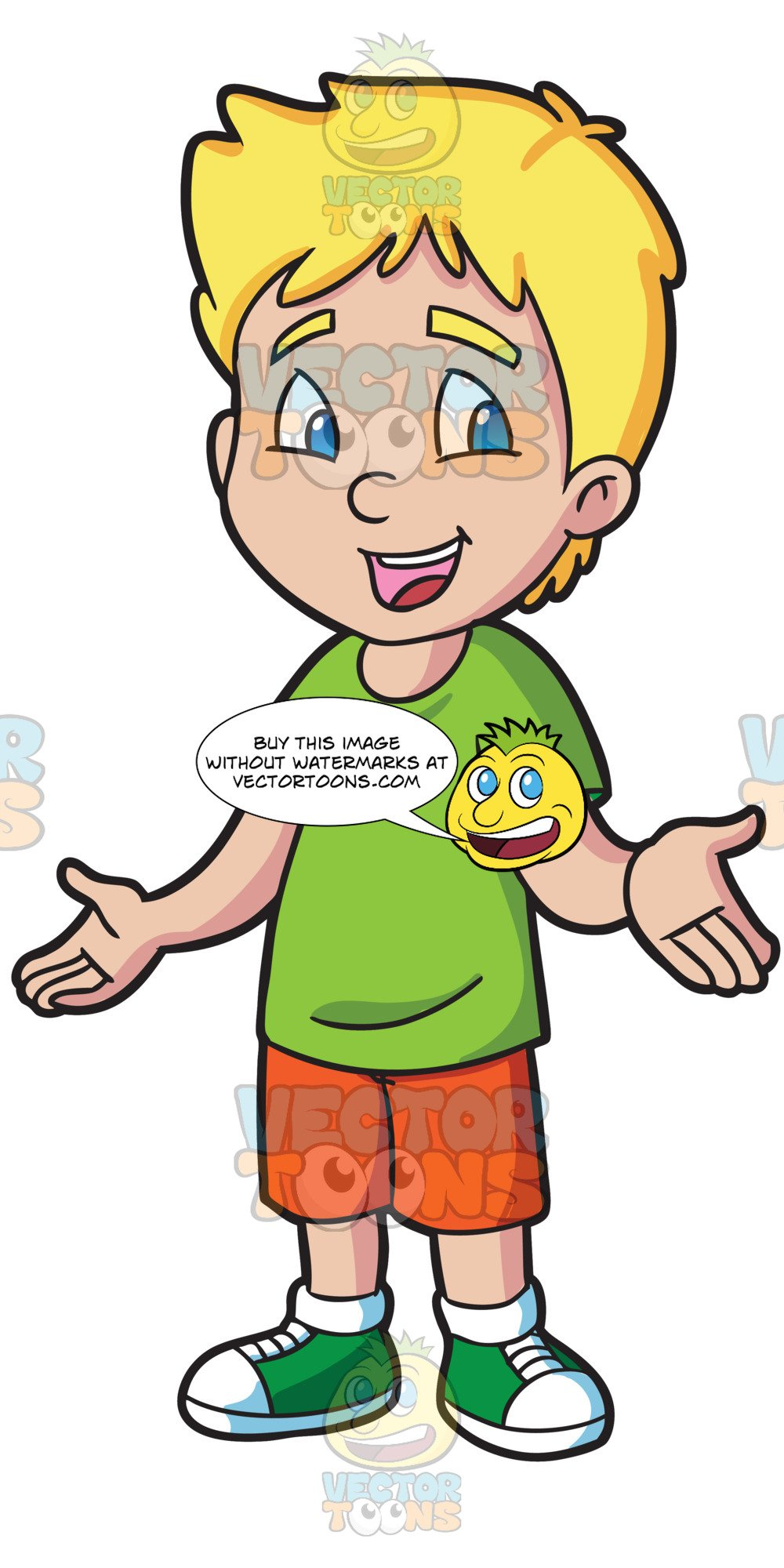 Understanding kind warm clipart clip art royalty free A Male Primary School Student Looking Friendly And Warm clip art royalty free