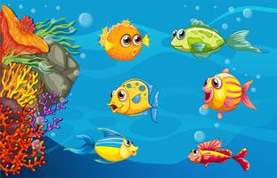 Underwater scene clipart png library library Underwater Scene Free Vector Art - (437 Free Downloads) png library library